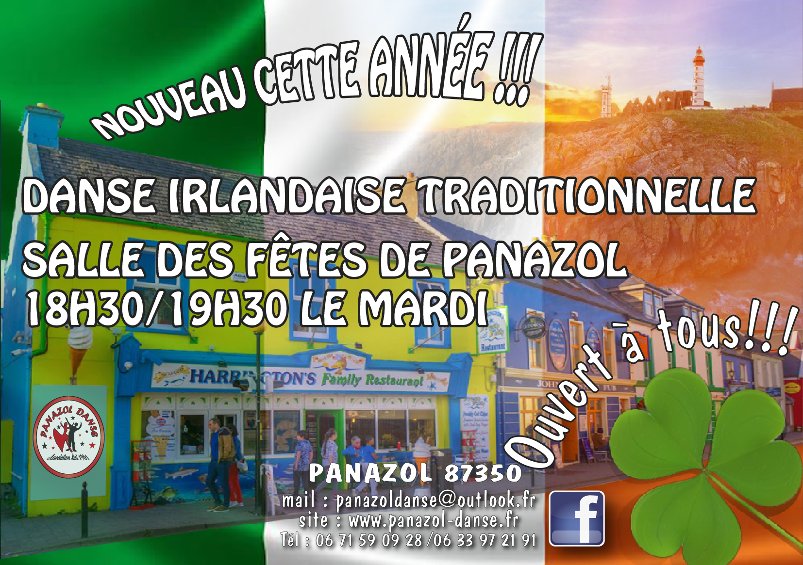 Cours de Danse Traditionnelle Irlandaise